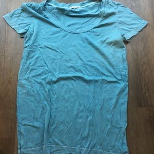 James Perse blue tee